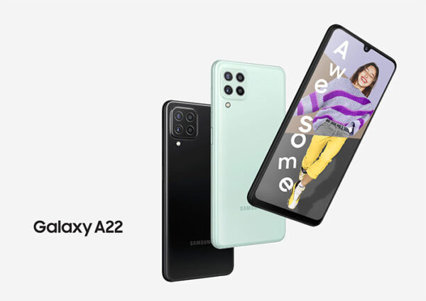 گوشی موبایل سامسونگ مدل A22 4G